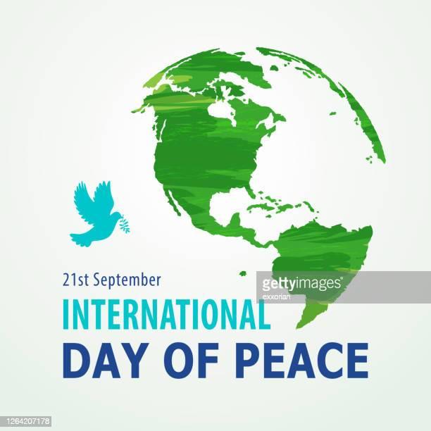 国際平和デー - 持続可能な開発目標点のイラスト素材/クリップアート素材/マンガ素材/アイコン素材