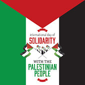 International day of solidarity with the palestinian people.