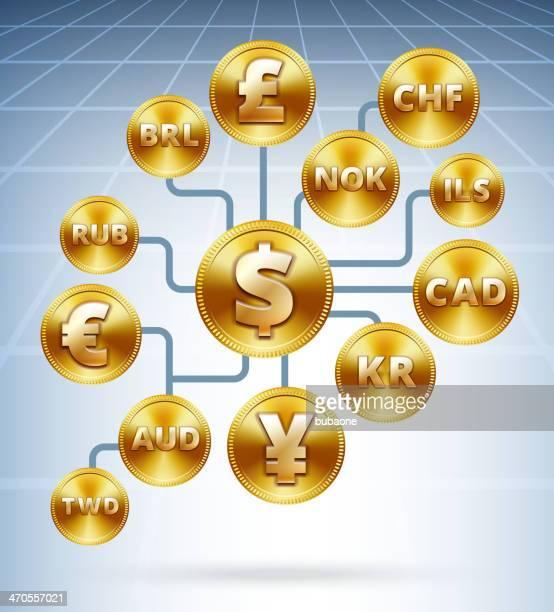 ilustrações, clipart, desenhos animados e ícones de moedas de ouro da rede internacional - reforma assunto