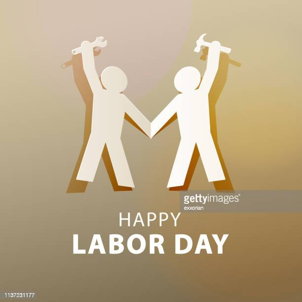 international labor day - labour day stock illustrations