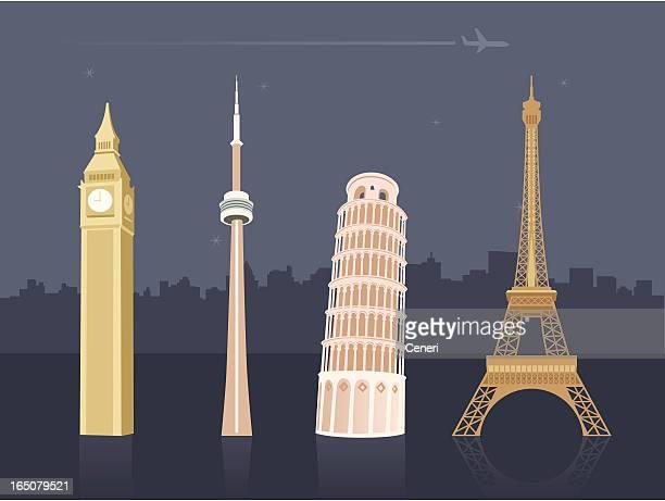 Internationale Sehenswürdigkeiten und Reiseziele