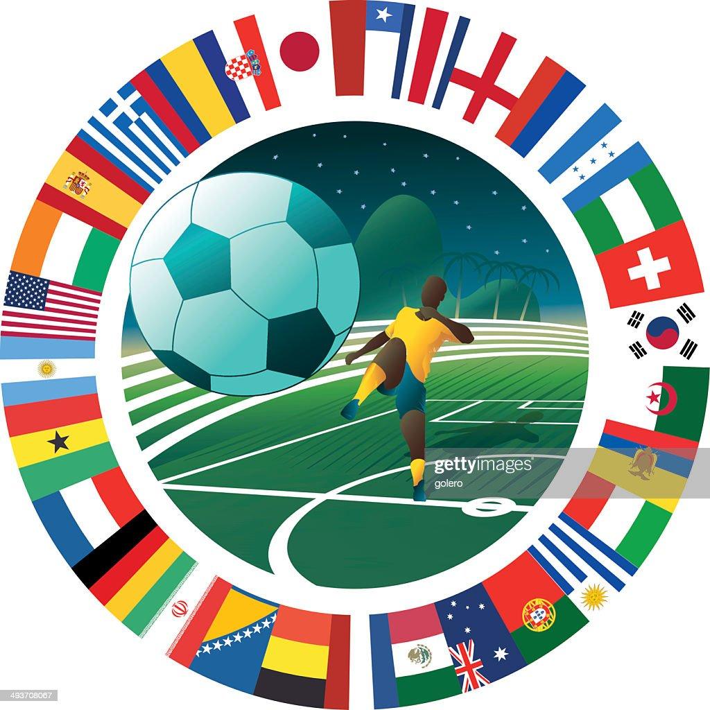 international soccer symbol
