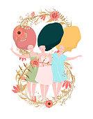 International Women Day Card Design
