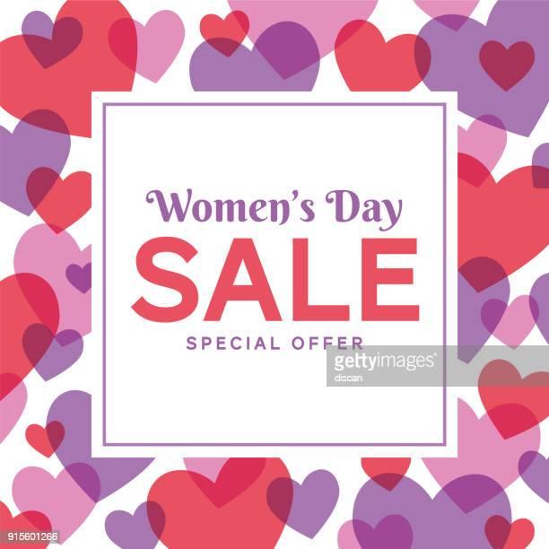 ilustraciones, imágenes clip art, dibujos animados e iconos de stock de diseño de día internacional de la mujer para publicidad, banners, folletos y flyers - feliz dia de la mujer