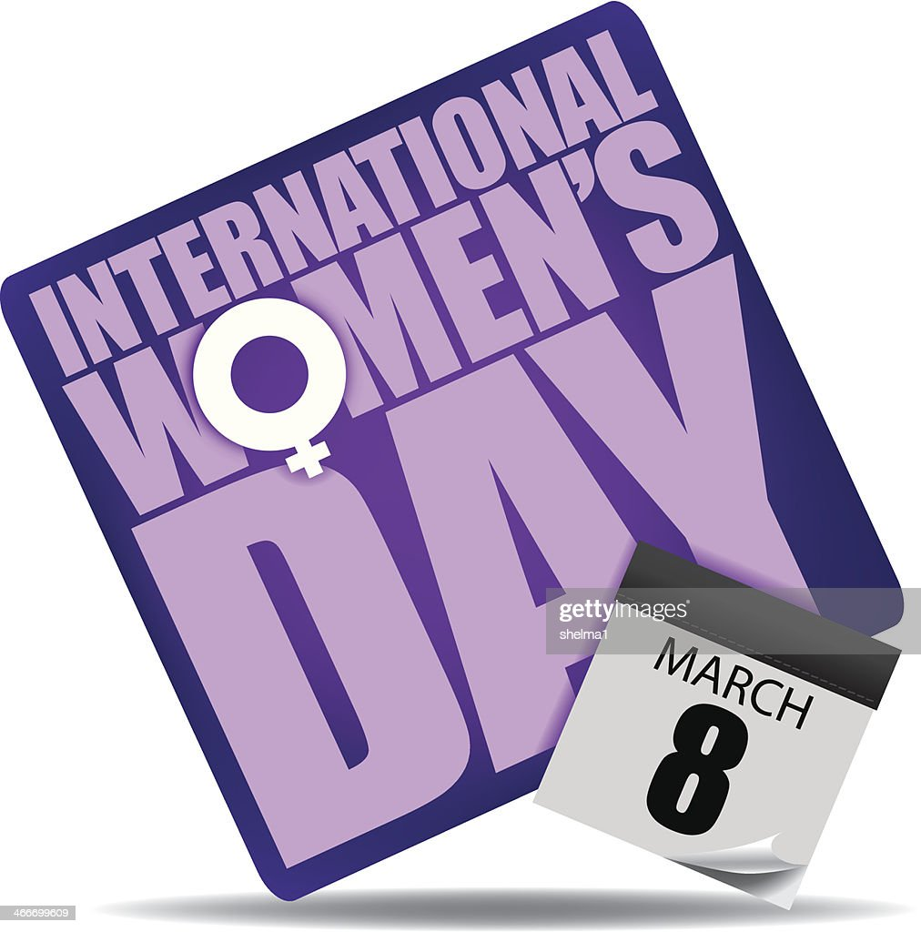International Women's Day Icon.