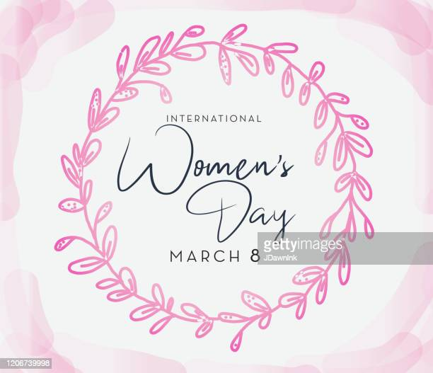 international women's day march 8th design template banner or flyer - international womens day stock illustrations