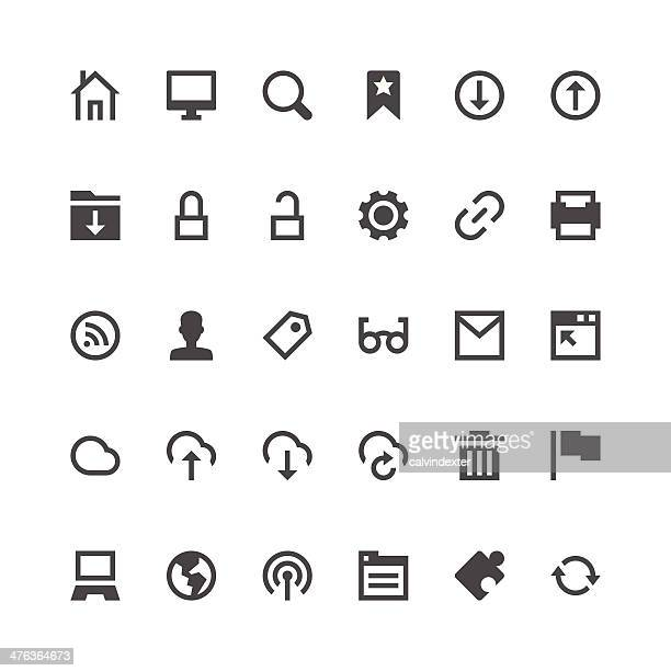 Internet and Website icons | Paris Series