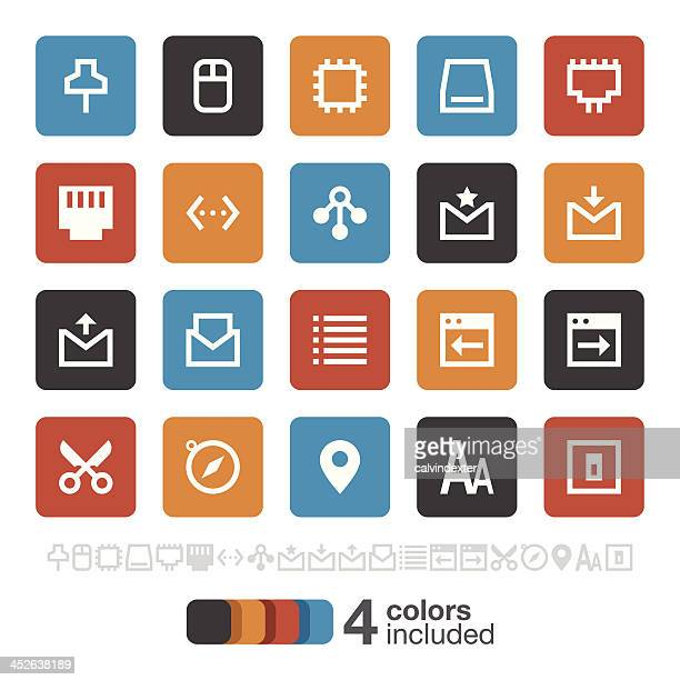 Internet and Website icons set 2 | Brooklyn Series