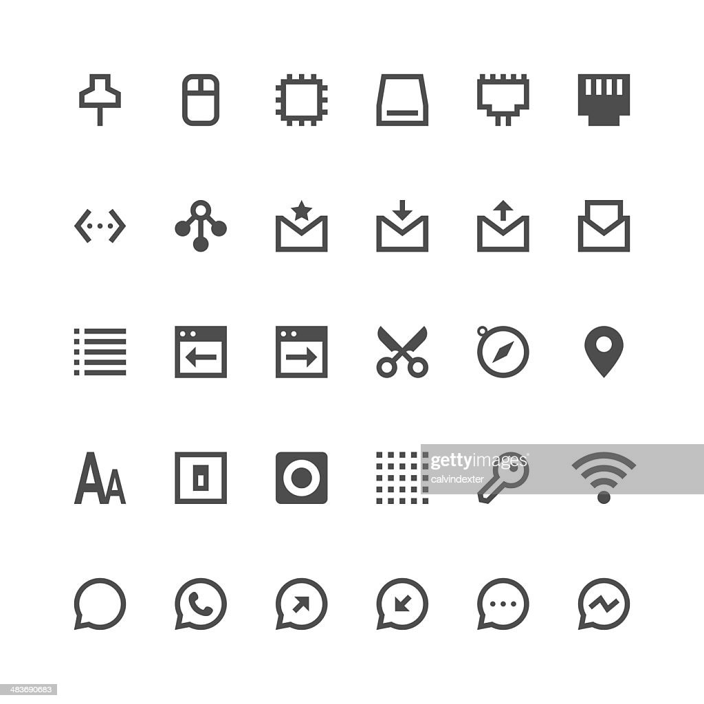 Internet and Website icons set 2 | Paris Series