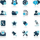 Internet & Blog Icons // Azure Series