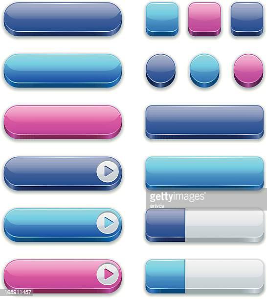 のインターネットボタン - ウェブ2.0点のイラスト素材/クリップアート素材/マンガ素材/アイコン素材