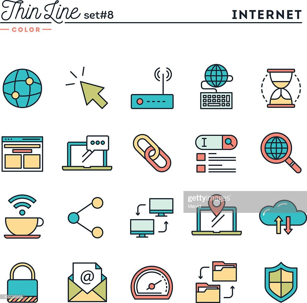 Internet, global network, cloud computing, free WiFi and more