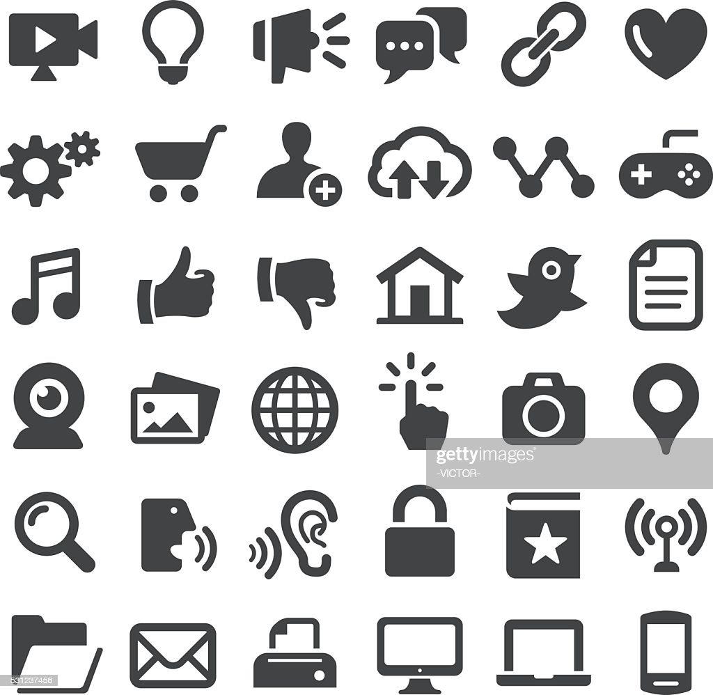 Internet Icons - Big Series