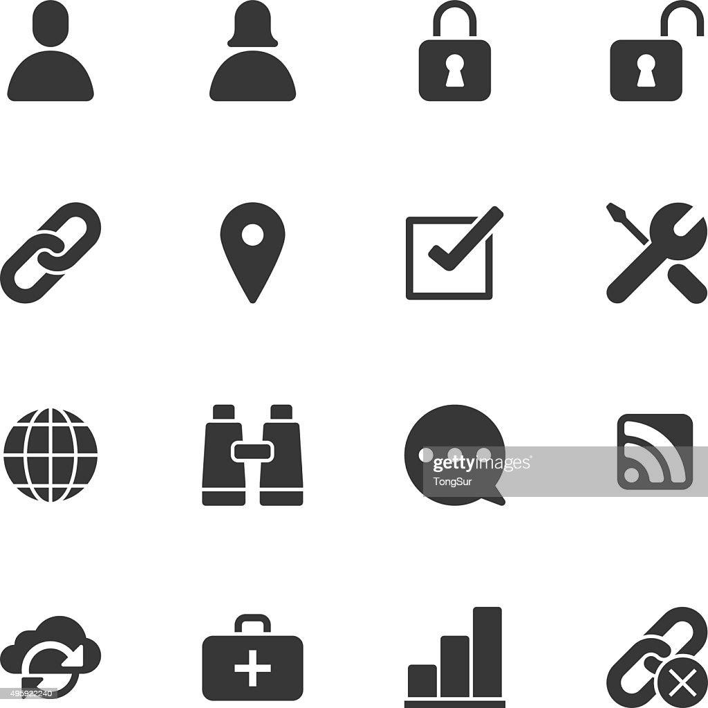 Internet icons - Regular