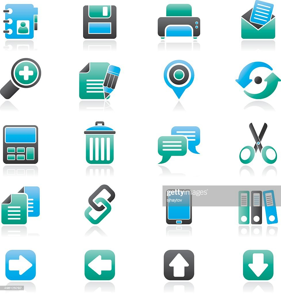 internet Interface Icons