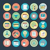 Internet Marketing and Web optimization Vector Icons 1
