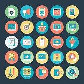 Internet Marketing and Web optimization Vector Icons  4