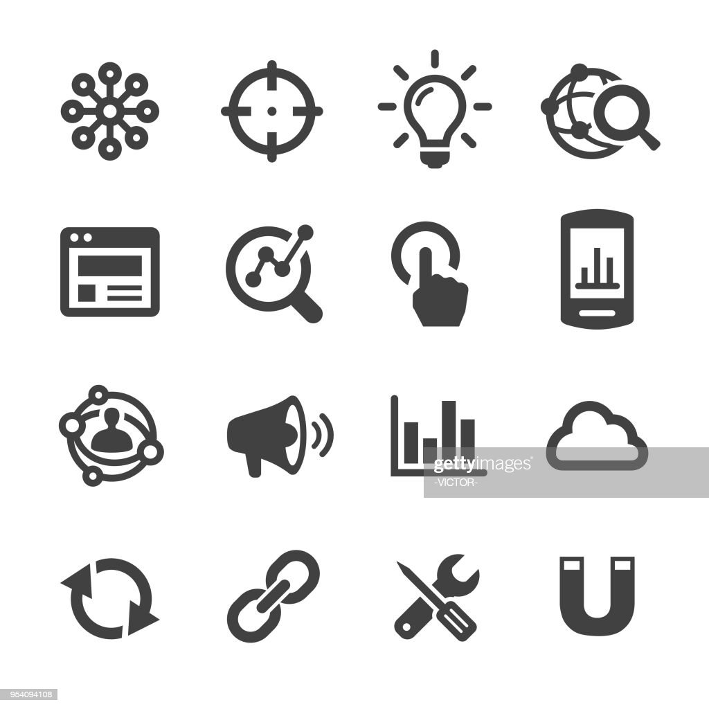 Internet Marketing Icon - Acme Series