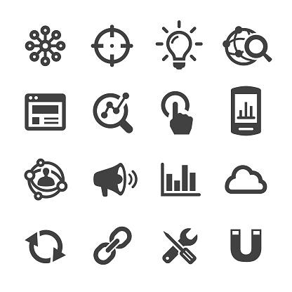 Internet Marketing Icon - Acme Series - gettyimageskorea