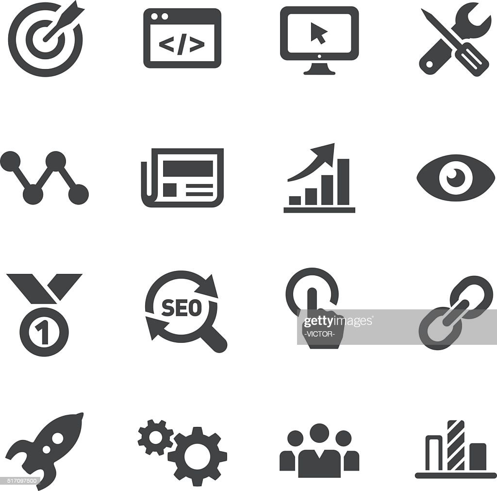 Internet Marketing Icons - Acme Series : stock illustration