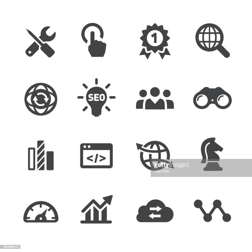 Internet Marketing Icons - Acme Series