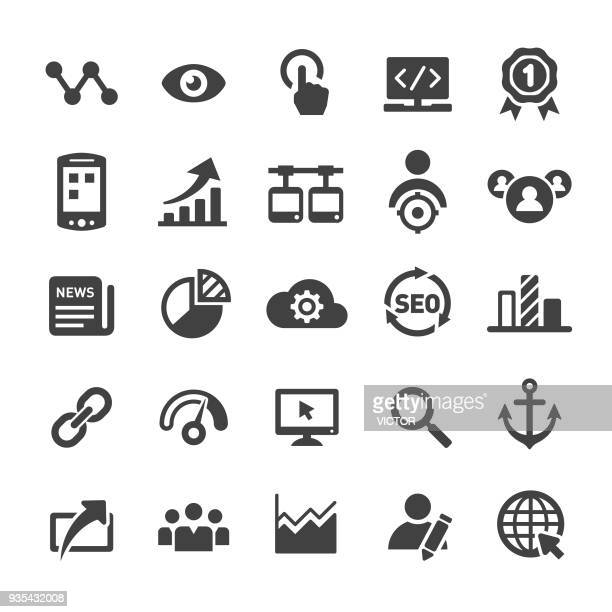 Internet Marketing Icons Set - Smart Series