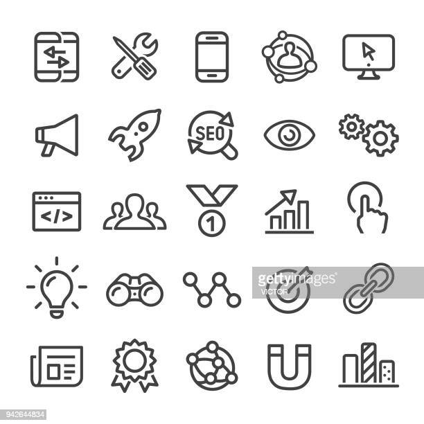Internet Marketing Icons - Smart Line Series