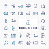 Internet of Things Icon Set