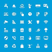 Internet of Things vector icons set