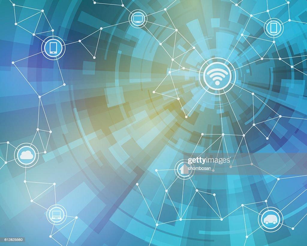 Internet of things, wireless sensor network