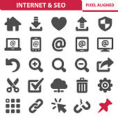 Internet & SEO Icons