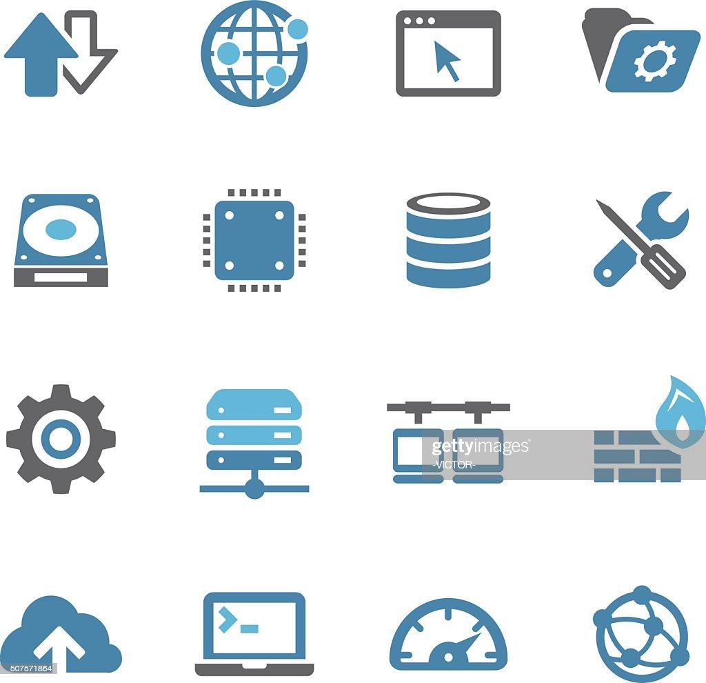 Internet Server Icons - Conc Series