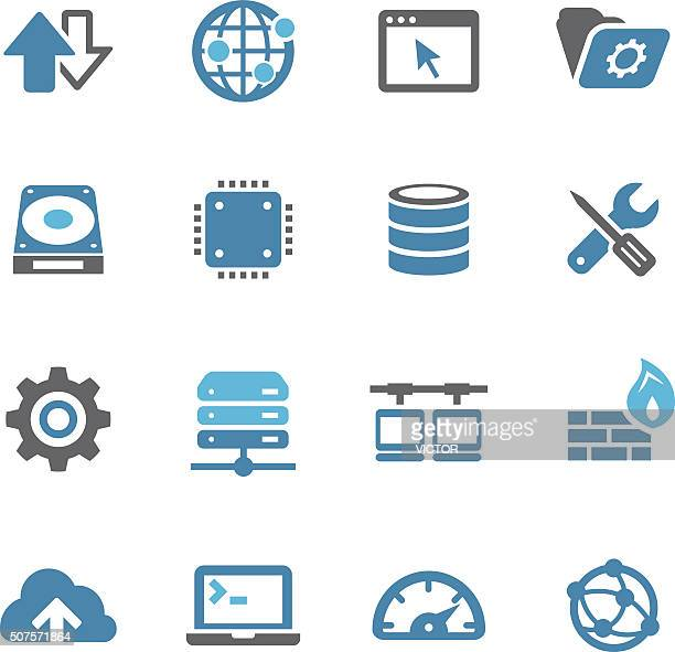 Internet Server Icons - Conc Series
