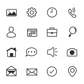 Internet Web Icons, Vector Illustration Design