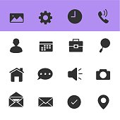 Internet Web Icons, Vector Illustration Design with White Background