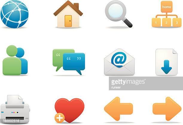 Internet & Website icons | Premium Matte series