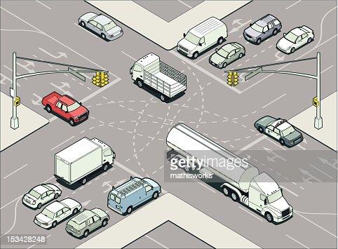 Intersection Illustration