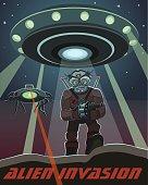 invasion of alien creatures