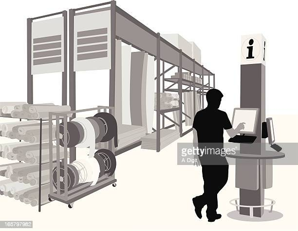 Inventory Vector Silhouette