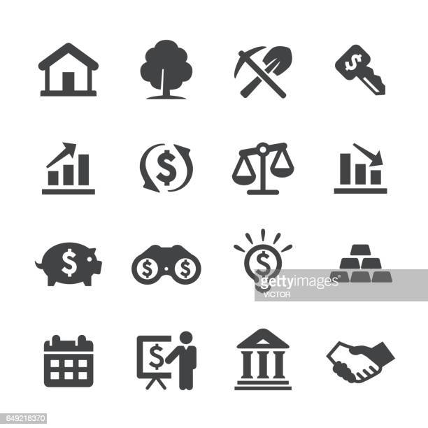 Investment Icons Set - Acme Series