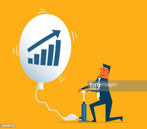 ilustrações, clipart, desenhos animados e ícones de investimento, movendo-se - homem de negócios