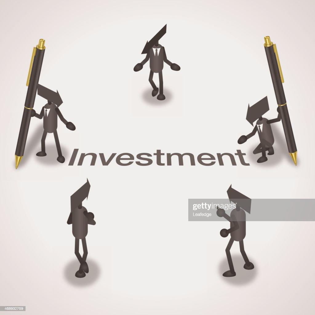 Investment : stock illustration