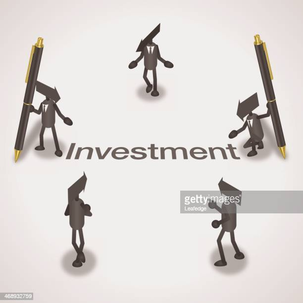 investment - legal document stock illustrations, clip art, cartoons, & icons