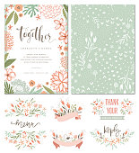 Invitation and Card Design Set_05