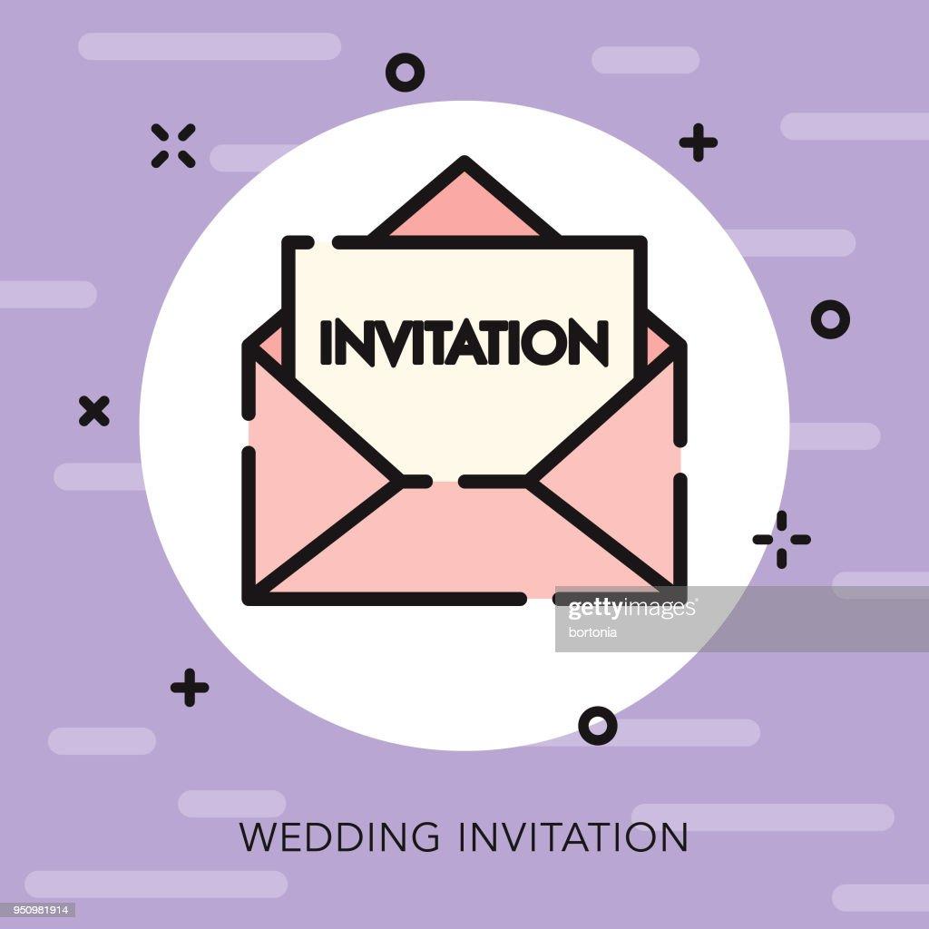 Invitation open outline wedding icon vector art getty images invitation open outline wedding icon vector art stopboris Gallery