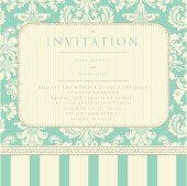 Invitation to the wedding or announcements
