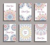Invitations Mandala Design Templates
