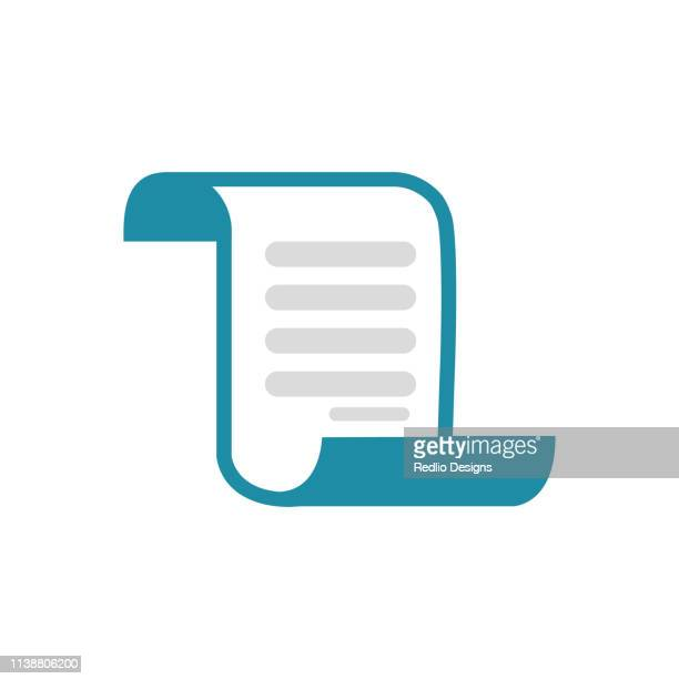 invoice bill icon - beak stock illustrations