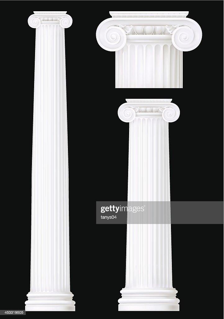 ionic column set