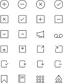 iOS and Android Vector Icons 4